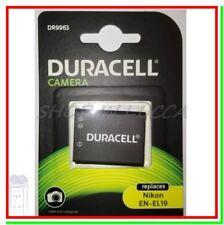 Batteria Ricaricabile DURACELL DR9963 = Nikon EN-EL19 x CoolPix S Series