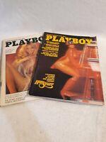 Vintage Playboy Magazine February & March 1976 (Z)