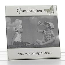 Grandchildren Photo Picture Frame 6 X 4 3d Butterfly by Shudehill Giftware 74035