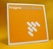 Cardsleeve Single cd Fragma Toca's Miracle 2TR 2000 dance house hit!