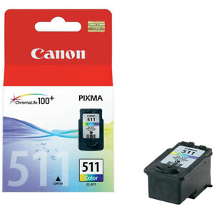 Original Canon CL511 Colour Ink Cartridge for Pixma MP495 Printers