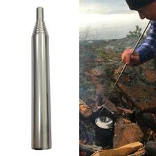 Outdoor Pocket Bellows Builds Fire By Blasting Air Collapsible Campfire Tool