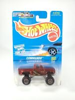 Hot Wheels Commando Collector #601 Red NEW NOC with Protector Pak