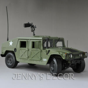 Replica 1:18 Diecast Car Model Toys  Hummer H1 Military SUV Tactical Vehicle
