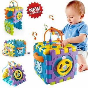Baby Toys 18+ month Baby Activity Cube Toy - 6 in 1 Multipurpose Play Centre