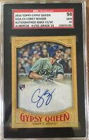 2016 Topps Gypsy Queen Gold Corey Seager rookie auto #11/50 SGC-98 Gem Dodgers