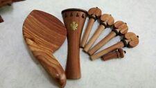 1 Sets of Fine Rosewood 4/4 Violin  Parts,violin accessories