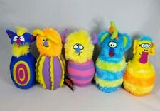 Melissa & Doug Monster Bowling - Lot of 5 Replacement Pins - Plush