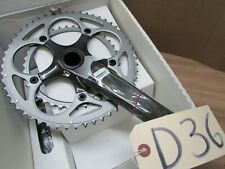 NOS SRAM FORCE CARBON 10 speed BB30  53 x 39 CHAINSET 170mm CRANKS SILVER RINGS