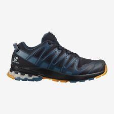 SALOMON Men's XA PRO 3D V8 Night Sky / Dark Denim / Butterscotch Trail Shoes
