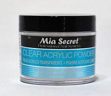 Mia Secret - Clear Acrylic Powder 2oz Acrilico 59g