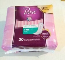 Poise Light Absorbency Pads - 30 Count - Individually Wrapped #3