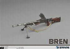 1/6 Weapon Action Figure Machine Gun WWII BREN Military Model ZYTOYS ZY2003