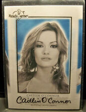 CAITLIN O'CONNOR - 2014 BENCHWARMER Yearbook - Signature Auto Signed