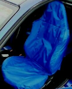 SPARCO CAR FRONT SEAT COVER / PROTECTOR IN BLUE FORD PUMA RACING (FORD RACING)