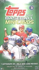 2012 Topps Baseball Mini Sealed Box