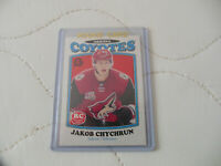 2016-17 O-Pee-Chee Retro Blank Back Jakob Chychrun Rookie Card SP #nno