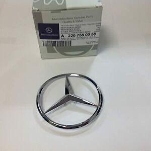 Genuine Mercedes-Benz W220 Trunk Star Emblem S430 S500 S600 S55 S65 AMG NEW!!