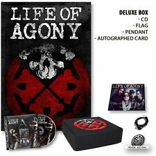 Life of Agony  A Place Where There's No More Pain autographed Box set IN STOCK