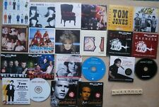 LOT OF 15 ALBUMS ON 21 PROMO CDS - MADNESS SANDIE SHAW TOM JONES ETC - UNUSED