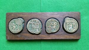 Moscow-80 Olympic, Vintage Souvenir Medals Set, USSR Soviet OLYMPIC GAMES 1980
