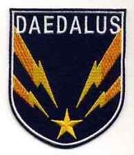 "Stargate SG-1 Daedalus   Logo 3.75"" Uniform  Patch- FREE S&H  (SGPA-37)"