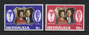Bermuda - 1972, Royal Silver Wedding, MNH