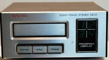 Craig H240 8-Track Tape Player 120V - Works great