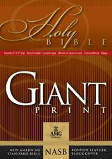 NEW - Giant Print Handy-Size Reference Bible: NASB 1977 Edition