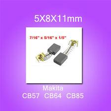 Carbon Brushes For Makita CB57 CB64 CB85 5X8X11mm 8410B 9035 9504BH 6510 HP1631