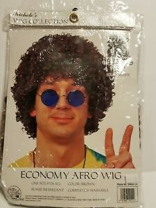"""Economy Afro Costume Wig - Color Brown """"Free Shipping"""""""