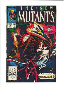 New Mutants #74 VF+ 8.5 Marvel Comics 1989 X-Terminators app.
