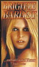 ...And God Created Woman~1956 NEW VHS~BRIDGITTE BARDOT CURT JURGENS JEAN TISSIER