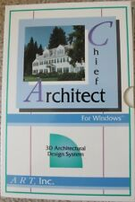 Vintage Software -Chief Architect (Retail box and manual only)