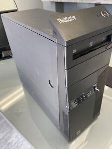 Lenovo ThinkCentre M93P Tower Desktop Core i7-4790 3.6GHz 2GB RAM Win 10 PRO