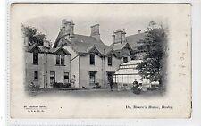 DR. MOORE'S HOME, BUSBY: Renfrewshire postcard (C20076)