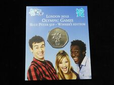 Royal Mint: London 2012 Olympic Games, Blue Peter 50p - Winner's Edition BU