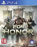 FOR HONOR PS4 EN CASTELLANO ESPAÑOL FISICO NUEVO PRECINTADO PS4