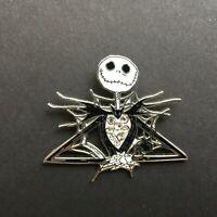 Jack Skellington Spiderweb Jeweled - Disney Pin 56750