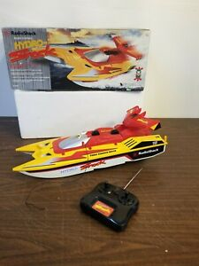 Hydro-Shock RC Supercharged Speed Boat RadioShack In Box
