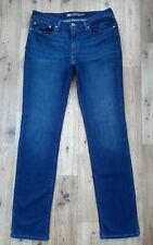 Ladies Levi Slight Curve Slim stretch jeans UK size 12 Waist 30 Long Leg 33