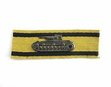 NEW German Army GOLD TANK DESTRUCTION BADGE - WW2 Repro Award Insignia Medal New