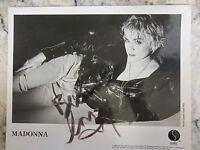 Authentic Madonna hand-signed 8 X 10 autograph photo publicity shot