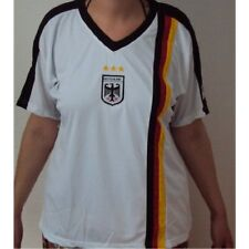 WM 2014 Mujer Camiseta Alemania BLANCO TALLA L