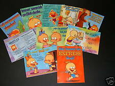 Windel Winni Postkarten 10 verschiedene