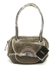 MIMCO MINI HALF MOON LEATHER DAY BAG IN CEMENT BNWT RRP$379