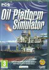 Oil Platform Simulator, Drill for Fossils fuels, Oil Exploration, PC Sim Game