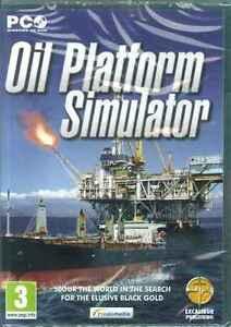Oil Platform Simulator, Drill for Fossils fuels, Oil Exploration, PC Sim Game