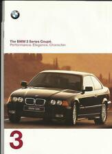 + + RIDUZIONE + + BMW 3 Series Coupe BROCHURE AUTO 1997/98