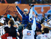 Tony Dungy Signed Indianapolis Colts Super Bowl 8x10 Photo STEINER